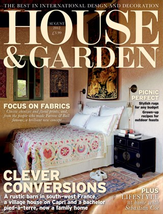 House Garden Magazine August 2012 The Primo Oven The Stone