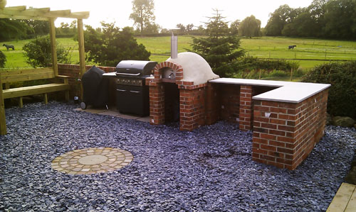 Outdoor Mezzo Wood Fired Oven