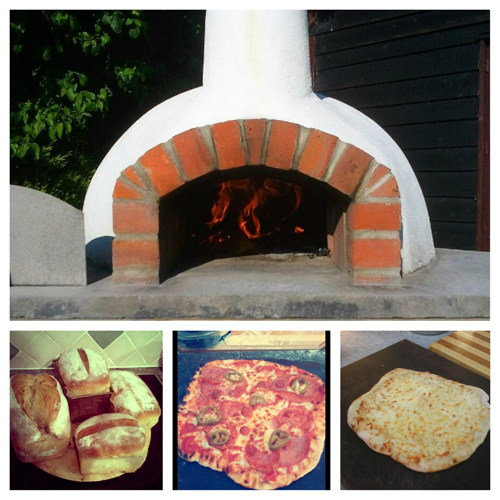 Mezzo Wood Fired Oven Cooking Stone Bake