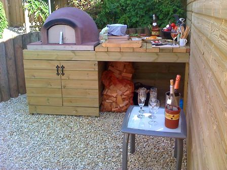 Pym's Primo Wood Fired Oven Built In