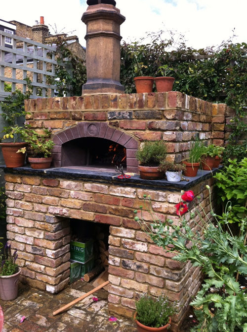 Rocca Wodd Fired Pizza Oven