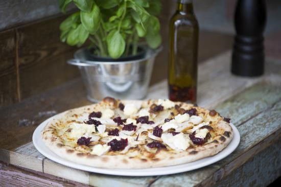... Brie on your pizza will be awesome with the perfect accompaniment of