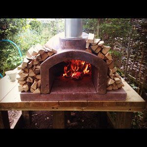 Outdoor Primo Oven Wood Fired