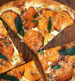 Pumpkin Topped Pizza With Crispy Sage - The Stone Bake ...