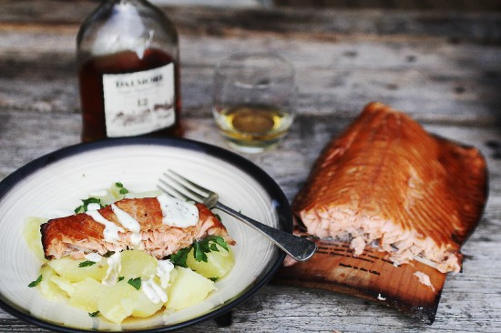 Guest Post Maple Plank Wood Fired Salmon The Stone